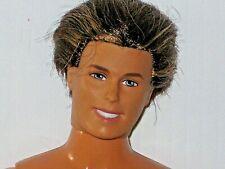 Barbie 1997 KEN Nude Brown Rooted Hair Bend Knee Bent Arm TNT Man Doll