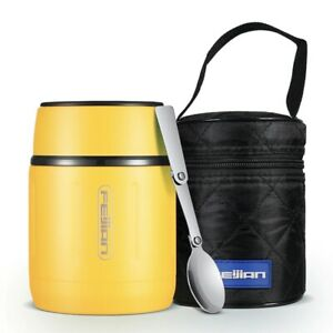 Food Thermos, Food Jar, Portable Thermos Boxes, Insulated Lunch Box, 500ML, Stai
