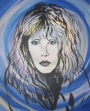 Stevie Nicks art print 8 1/2 x 11 Gypsy Fleetwood Mac Classic rock singer Bella