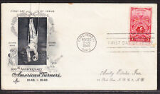 """USA """"Artcraft"""" 1948 American Turners  First Day Cover Addressed"""