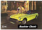 MG MGB Roadster Classic c1975 German Market Sales Brochure