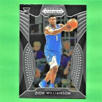 Zion Williamson Rookie Card 2019-20 Panini Prizm Draft Picks RC PSA 10? Duke #64
