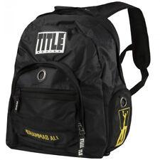 Title Boxing Muhammad Ali Super Boxing Equipment Backpack - Black