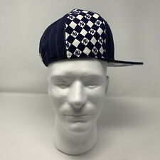 NEW YORK YANKEES NEW ERA 59FIFTY DIAMOND PATTERN FITTED HAT CAP 6 7/8