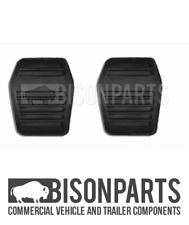 *FITS FORD TRANSIT MK7 2006-2013 CLUTCH / BRAKE PEDAL PAD RUBBERS - TRA652 x2