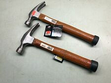 MINTCRAFT Tool 20 oz Hickory Wood Handle Framing Rip Claw Hammer Carbon Steel 2