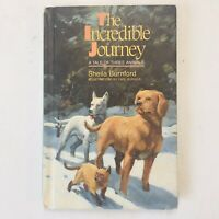 The Incredible Journey Hardcover Book by Sheila Burnford 1961