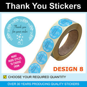 35mm Gold Cupcake Thank You Stickers / Labels - Only for 120