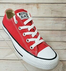 Converse Chuck Taylor All Star Men's 4 Women's 6 Red Low Top Sneakers M9696