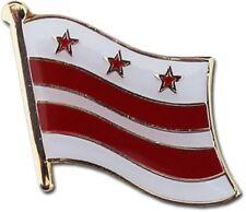 Washington D.C. District of Columbia Flag Bike Motorcycle Hat Cap lapel Pin