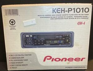 Pioneer KE-P1010 Multi CD Cassette Tuner UNTESTED in Original Box w/ Manuals