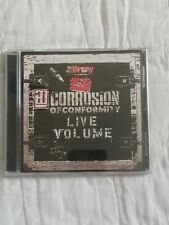 Corrosion of Conformity : Live Volume-CD- Heavy Metal-2001-Sanctuary Records