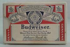 Vintage Budweiser Playing Cards Complete Deck With 1 Busch Gardens Joker