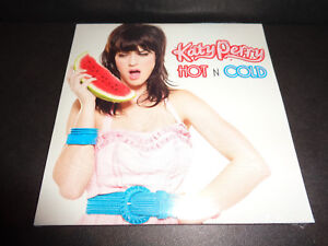 HOT N COLD by KATY PERRY-Rare Collectible CD Single with Innerpartysystem Remix
