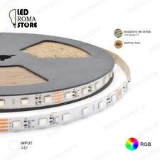 STRISCIA LED STRIP 5050 300 5M IP20 24V RGB LUMINOSISSIMA 3M EPISTAR