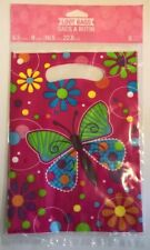 +Butterfly Loot Bags Birthday Wedding Event Goodie Bag Pink Purple Blue Lime