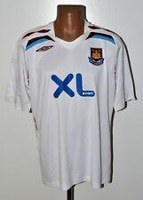 WEST HAM 2007/2008 AWAY FOOTBALL SHIRT JERSEY UMBRO SIZE XL ADULT