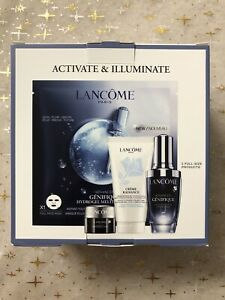 Lancôme 4-pc Advanced Genifique Activating & Illuminating Set VALUE: $130.50 NIB