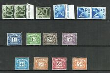 GB Postage Dues small selection of mint & unmounted mint stamps as scan