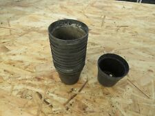 5.5cm plant pots used Black