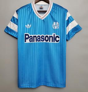 olympique marseille fc 1990 Away Retro Football Jersey vintage shirt