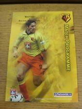 24/10/2000 Watford V Bolton Wanderers (no difetti GRAVI indicato)