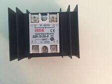 FOTEK Solid State Relay SSR-75DA-H, 3-32 VDC control input