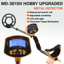 MD-3010II Metal Detector Waterproof Coil LCD Gold Hunter Treasure Deep Searching