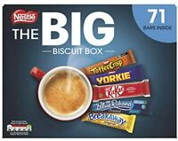 Nestle The Big Biscuit Box 71 Chocolate Biscuit Bars