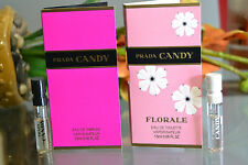 2X Set PRADA CANDY & FLORALE Travel Mini Sample Sprays Florale Sampler NEW