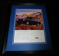 1997 Jeep Cherokee Framed 11x14 ORIGINAL Vintage Advertisement