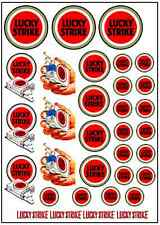 1/64, 1/87 - DECALS FOR HOT WHEELS, MATCHBOX, SLOT CAR: FAMOUS CIGAR RACE BRAND