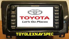 TOYOTA TUNDRA SEQUOIA GPS NAV NAVIGATION RADIO NON JBL 2007 TO 2013 INSTALL KIT