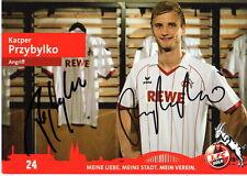 Kacper Przybylko 1.FC Köln 2012/13 handsignierte Autogrammkarte 12/13