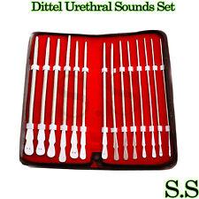 Dittel Urethral Sounds Set Of 14, Urology Instruments