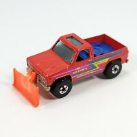 Vintage Hot Wheels Real Riders Brian's Snow and Dirt Removal Plow Truck 1979