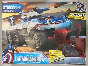 Captain America First Avenger Strikefire Transport NEW IN SEALED BOX GI Joe size