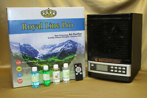 ✅2020 ROYAL HEPA Air Purifier 2 UV Anti Virus Ozone Ion CLEANER DELUXE BLACK