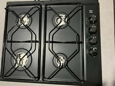 Ikea Whirlpool Gas Cooktop 23x20 Black Surface Metal Grates On Cook Surface