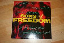 """Sons Of Freedom -SAME- 1988 12"""" LP + orig. Innenhülle + Info-Blatt mega rar"""