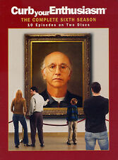 CURB YOUR ENTHUSIASM  the complete sixth season   DVD 2 disc set