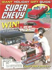 DECEMBER 1997 SUPER CHEVY 1967 CAMARO ST IGNACE '97 '53 convertible Chevy II