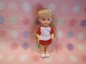 Kelly Doll Friends Blonde Hair Doll in Shorts Outfit & Shoes New!