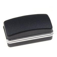 Black luxury cufflink cuff fake gift box cuboid link BT