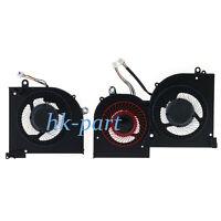 New for MSI GS65 GS65VR MS-16Q2 CPU+GPU Cooling Fan 16Q2-CPU-CW 16Q2-GPU-CW