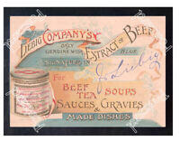 Historic Liebig Company Meat extract, 1880s Advertising Postcard 2