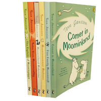 Moomins Collection Tove Jansson 6 Books Set, Comet in Moominland, Midwinter New