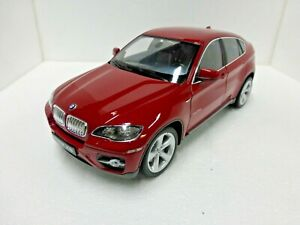 2011-12 BMW X6 SUV 1:18 Scale die-cast Welly 18031