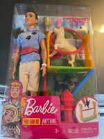 Barbie You Can Be Anything Ken Doll - Dog Trainer Playset
