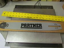 """NEW Old Stock Partner 16"""" Chainsaw Bar 16PAS58SN / 4145 / G08X"""